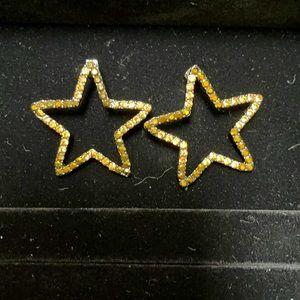 Zara star earrings
